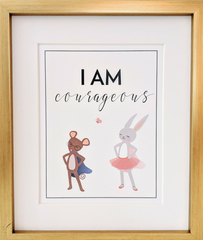 I Am Mindfulness Print for Kids