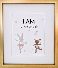 """I Am Enough"" Print for kids room"