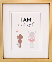 Affirmation print for kids