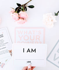 "Kids ""I Am"" Cards"