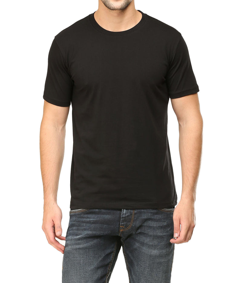 Plain Half Sleeve T-shirts