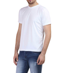 Plain Half Sleeve V neck T- shirt