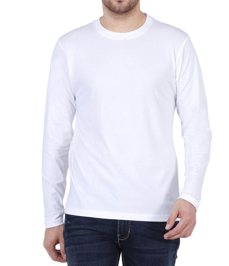 Plain Full Sleeve T-shirts