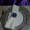 Image of 10pcs Diamond Napkin Rings