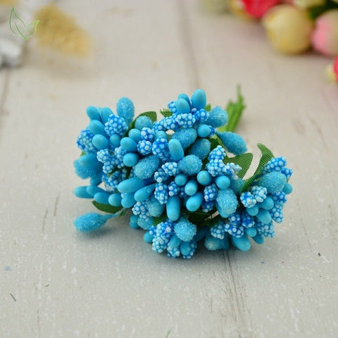12 pcs stamen sugar handmade artificial flowers
