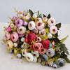 Image of 10heads  Roses Bridal bouquet