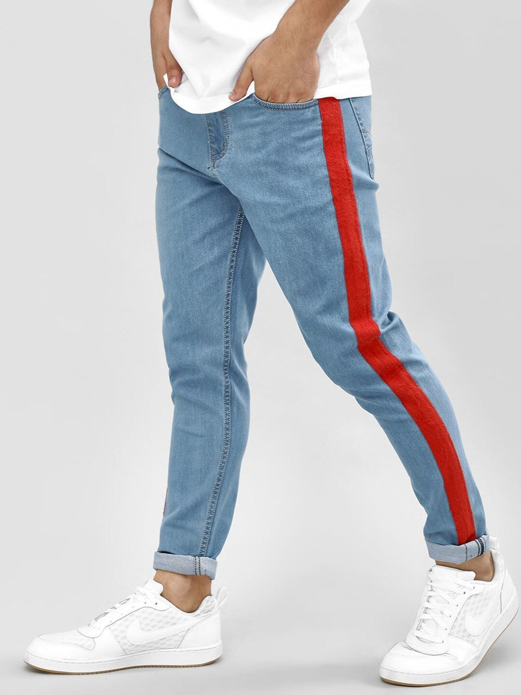 Side strip Joggers Denim Rs. 1699 | Book for Rs. 31 only