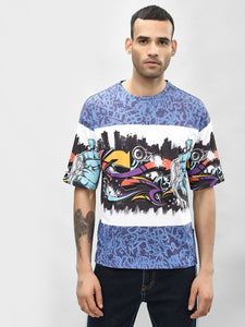 Graffiti Printed Tee | T-Shirt PRICE : Rs.899 | Book for Rs. 31 only