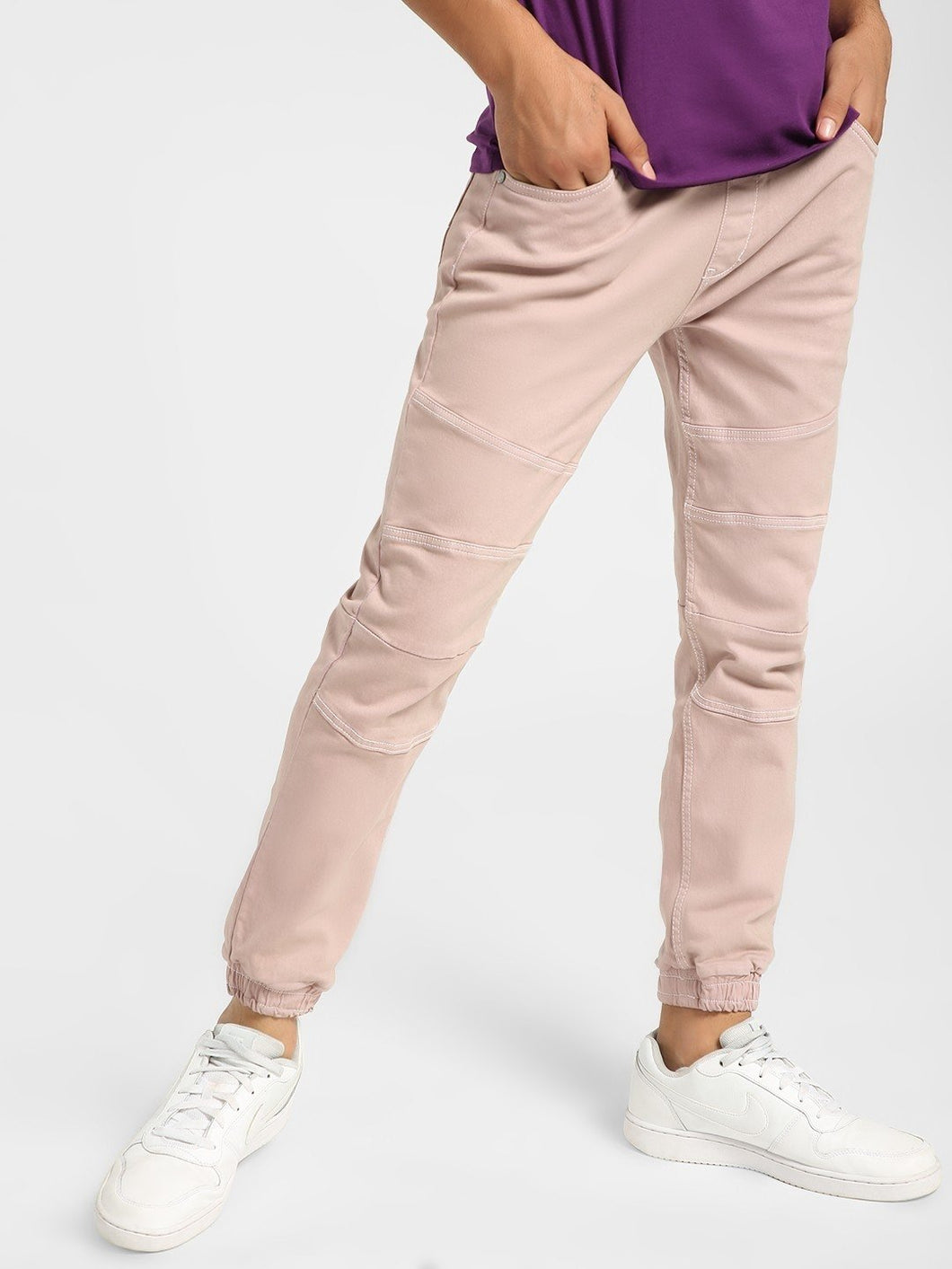 Premium Pink Fashionable Joggers  Rs. 1899 | Book for Rs. 31 only