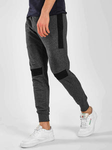 Grey Joggers Black knee strips Rs. 1260 | Book for Rs. 31 only