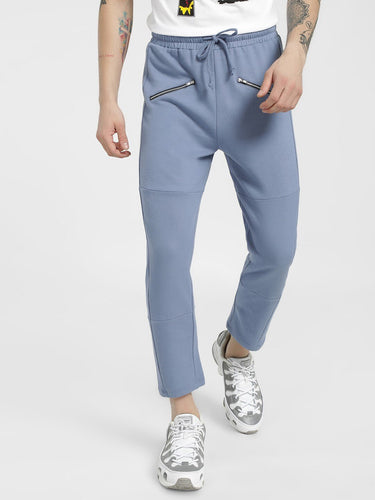 Premium Blue Zipped Joggers  Rs. 779 | Book for Rs. 31 only