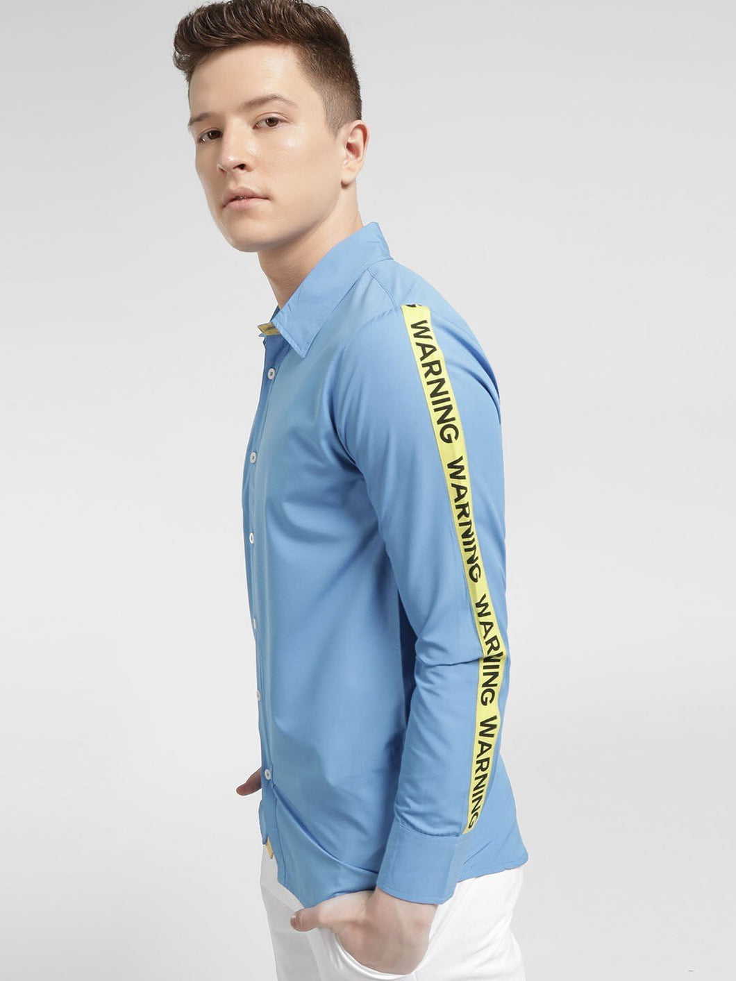 Side taped Sky blue T-shir Rs. 1199 | Book for Rs. 31 only
