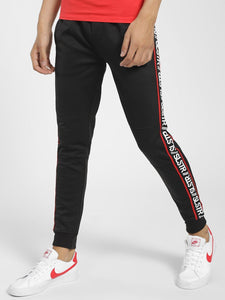 Black Side Strip Print Joggers  Rs. 1999 | Book for Rs. 31 only