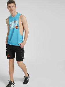 Sky Blue Tank Vest Rs. 359 | Book for Rs. 31 only