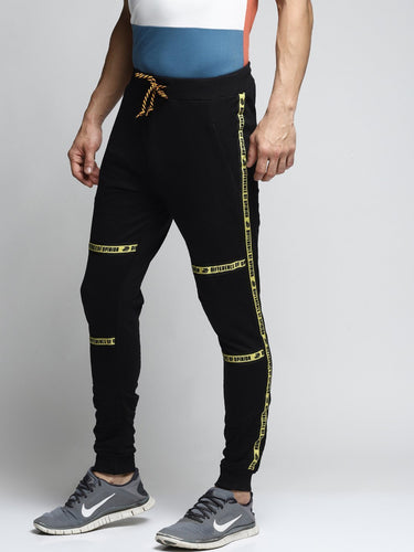 Men Black Slim-Fit Joggers PRICE : Rs.599 | Book For Rs.31 Only