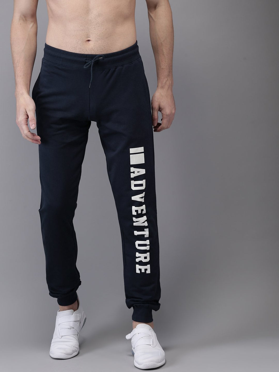 Men Navy Printed Joggers Printed Joggers PRICE : Rs.849 | Book For Rs.31 Only