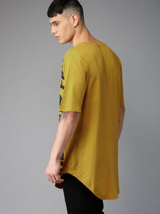 Yellow Long Line Tee PRICE: Rs. 519 | Book for Rs. 31 only