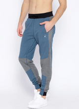 Teal Blue & Grey Colourblocked Joggers PRICE : Rs.599 | Book For Rs.31 Only