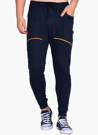 Yellow strip Navy Blue Joggers PRICE : Rs.715 | Book For Rs.31 Only