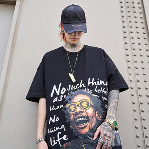 Khalifa Black Hip Hop T-Shirt - Premium Wear on Discount