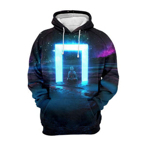 Buddha illuuminate 3D hoodie - 24 Hour Clearance Sale