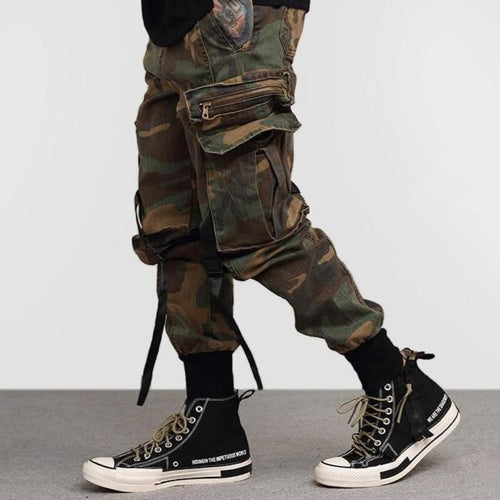 Cargo Camouflage v2 Green 100% Cotton Street Wear 24 Hour Clearance Sale