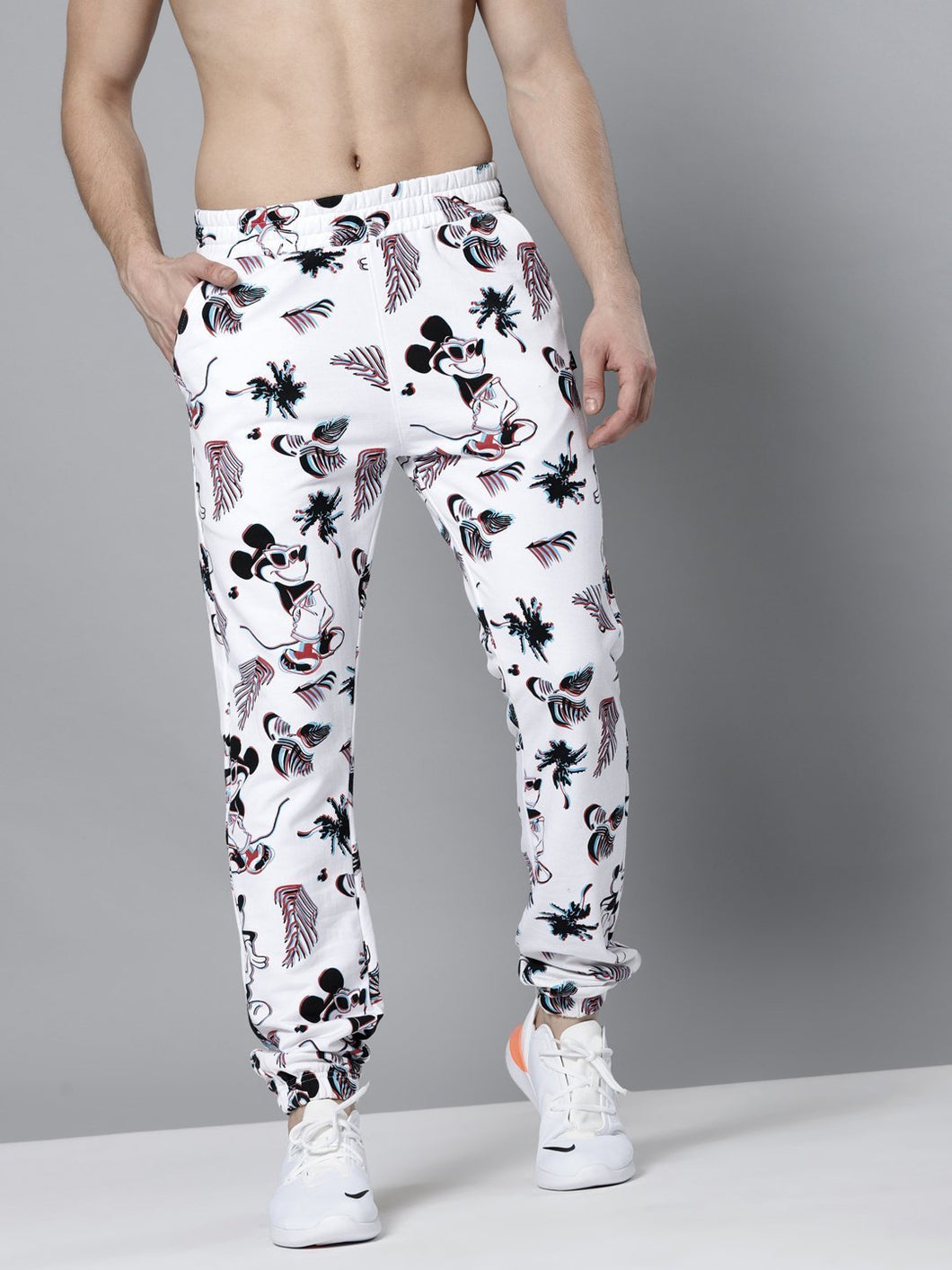 Men White Printed Joggers PRICE : Rs.799 | Book For Rs.31 Only