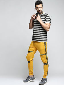 Men Mustard Slim-Fit Joggers PRICE : Rs.599 | Book For Rs.31 Only
