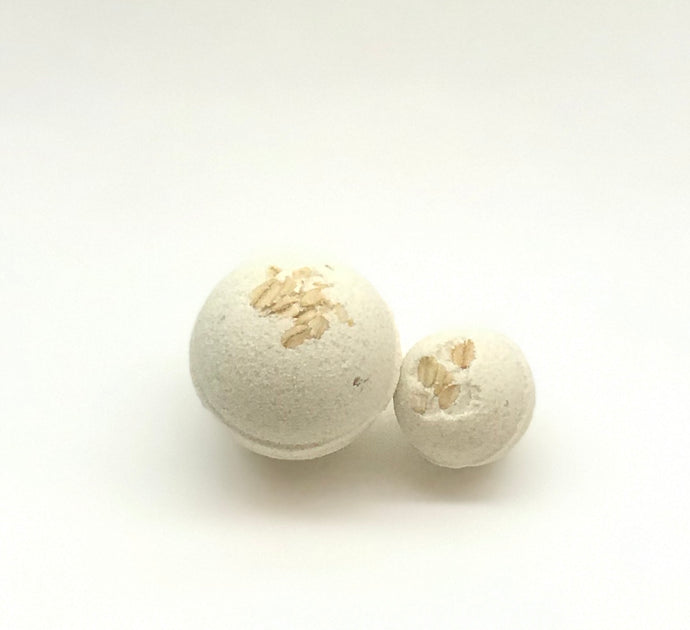 Mini Oatmeal Milk and Honey Bath Bomb
