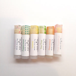 Unscented Lip Balm Vegan