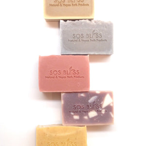 10 Piece Gift Pack Skin Soap Natural Soap Set Bath Gift Set Cold Process Soap Body Bar