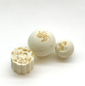 Oatmeal Milk & Honey Bath Bombs
