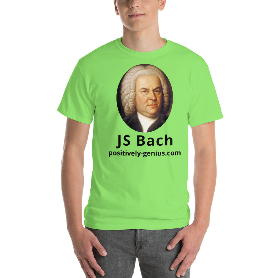 JS Bach - positively genius T-Shirts