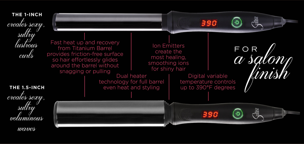 Sultra curling irons