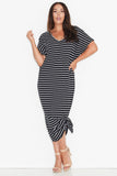 17 Sundays Basic Maxi Dress Black