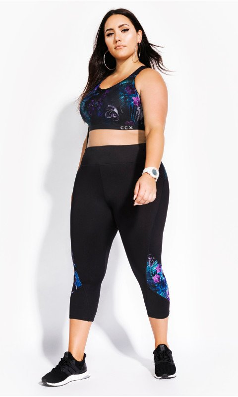 City Chic Plus Size Leggings Plus Size Activewear