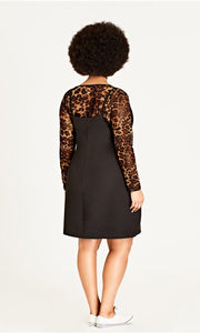 City Chic Leopard Print