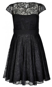 city chic black dress nz