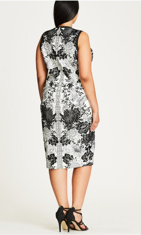 New // CITY CHIC 'Baroque Sheath' Dress // Sizes 18, 22 & 24