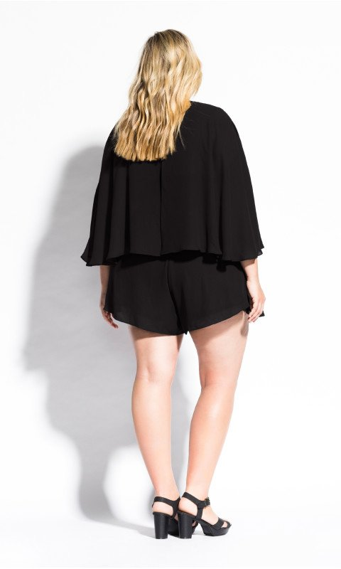 city chic plus size playsuit