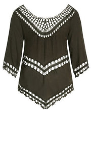 City Chic Catalina Top