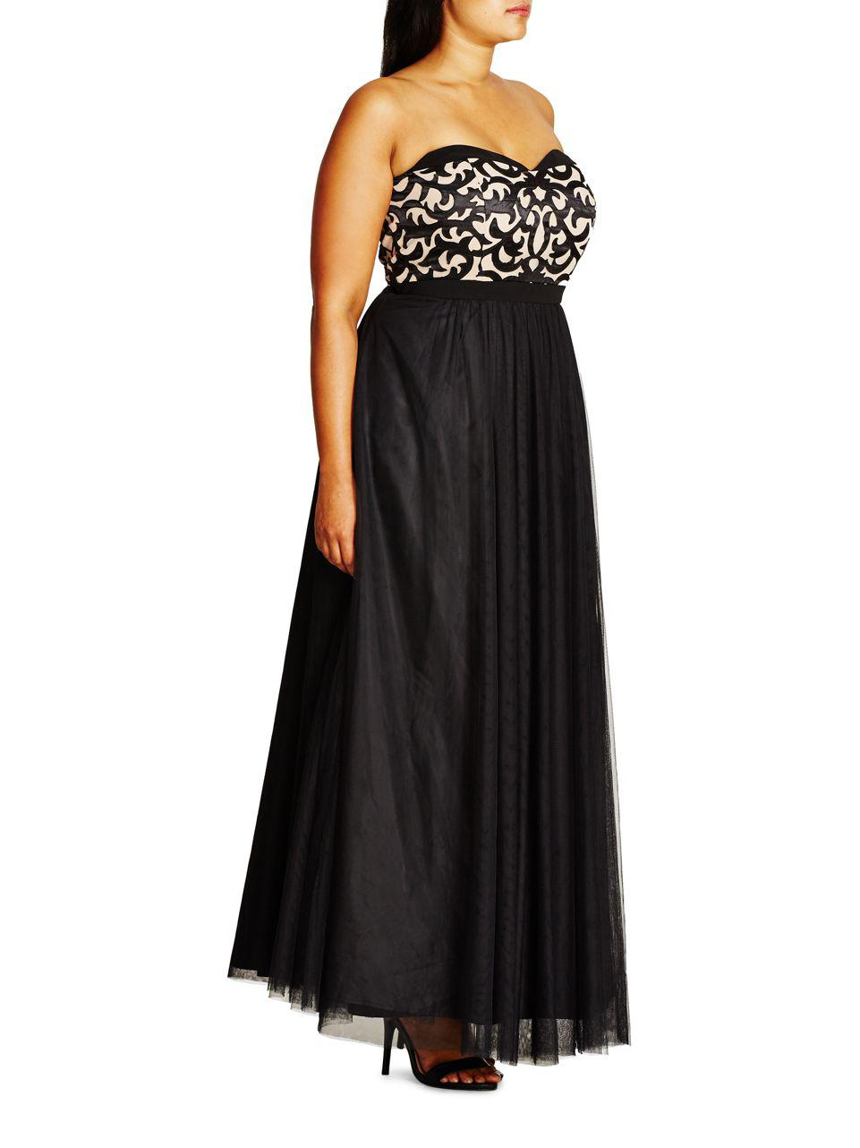 City Chic ball gown