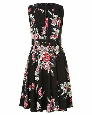 City Chic Misty Floral Dress