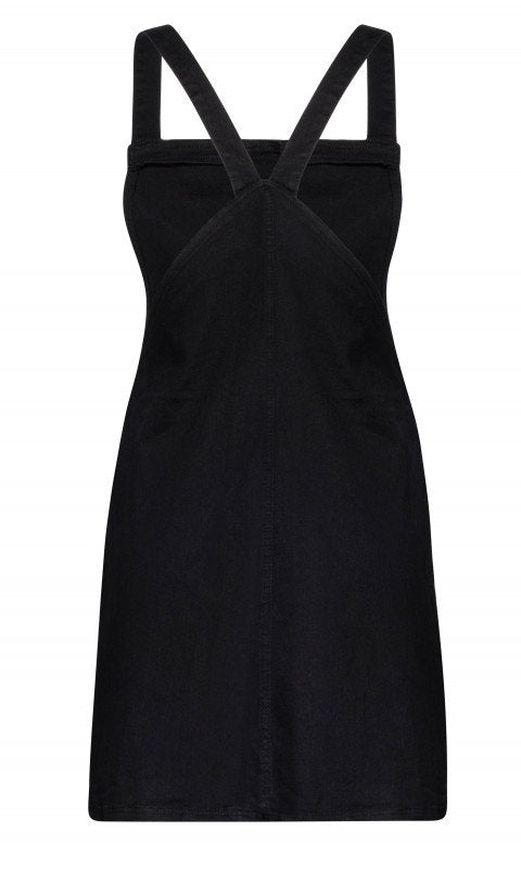 City Chic Plus Size Pinafore Dress