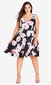 City Chic Wonderland Dress