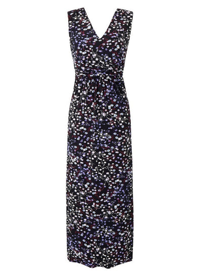 New // GRACE 'Multi -Coloured Ditsy Print Maxi-Dress' // Size 32
