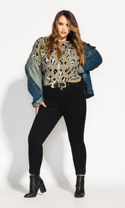 Plus Size Leopard Print NZ