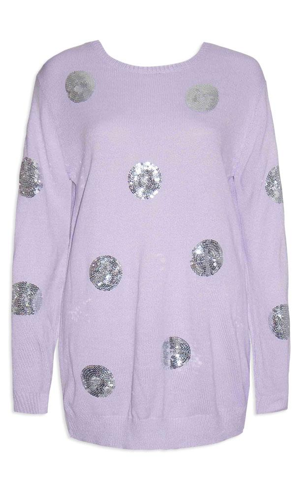 plus size sequin sweater