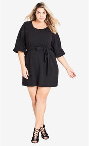 city chic bubble sleeve dress
