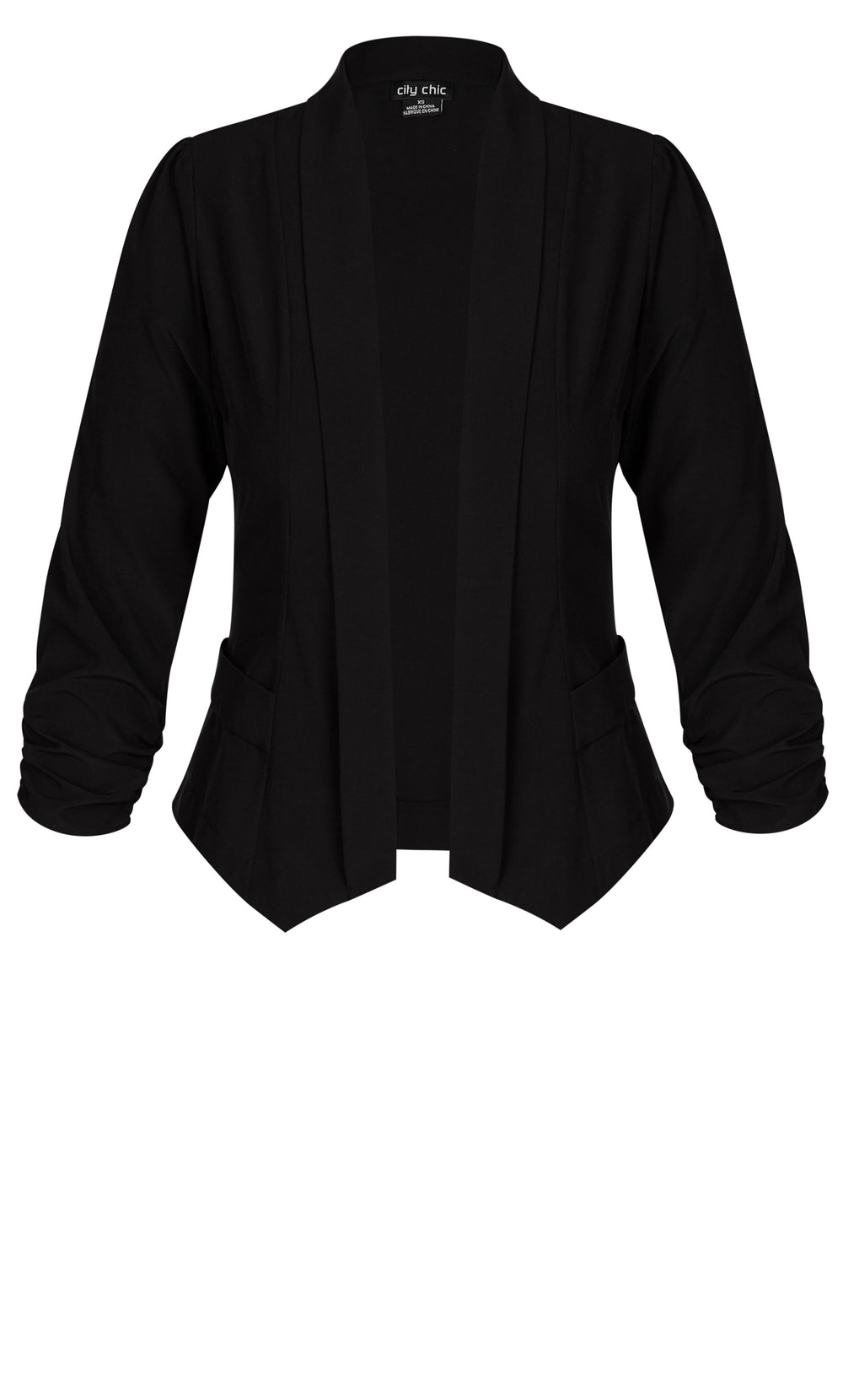 city chic classic black jacket
